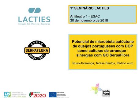 Seminário de lançamento do projeto LACTIES | 30 de novembro