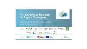 FitoFarmGest no VIII Congresso Nacional de Rega e Drenagem 2020