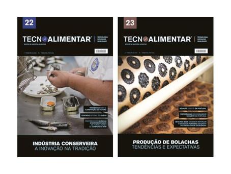 Publicação de artigos na Revista Tecnoalimentar [22 e 23] | Serpaflora