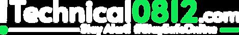 Technical0812.com White Logo