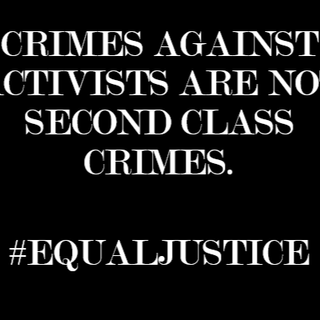 Crimes Against Protesters Are Not Second Class Crimes