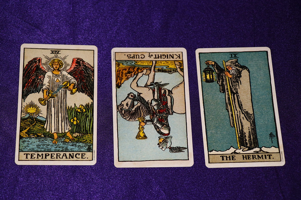 Reversed Tarot cards