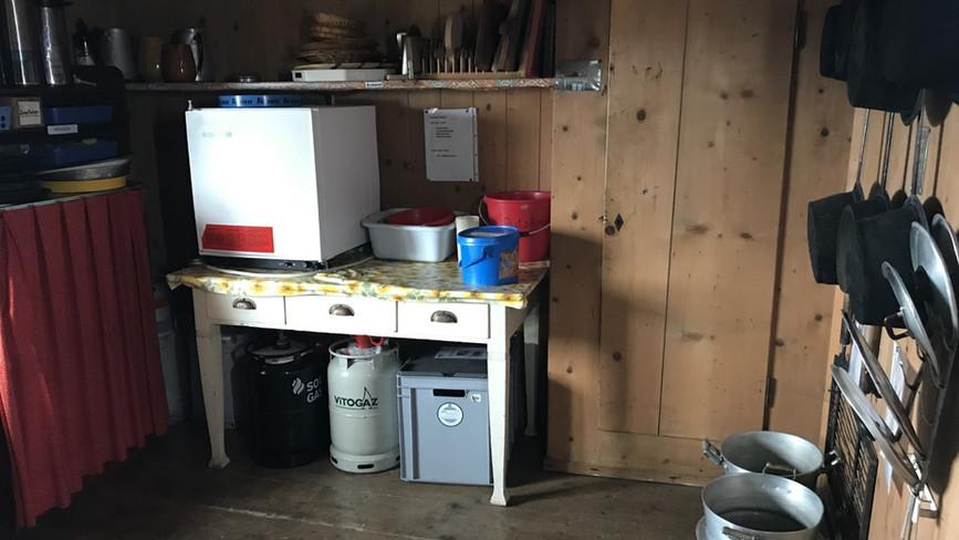 Raum hinter der Küche