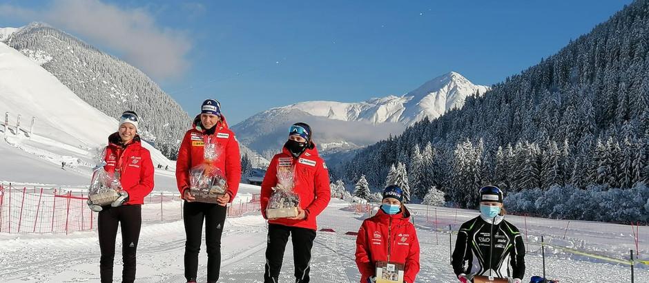 Ramona Schöpfer gewinnt Silber und Bronze an der Schweizermeisterschaft