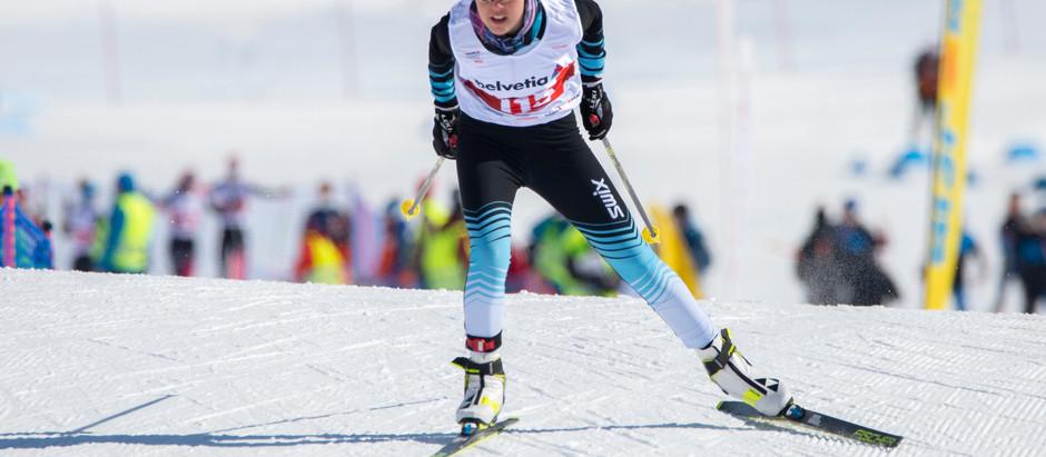 Leandra Schöpfer gewinnt Bronze bei den U16 Schweizermeisterschaften in Ulrichen