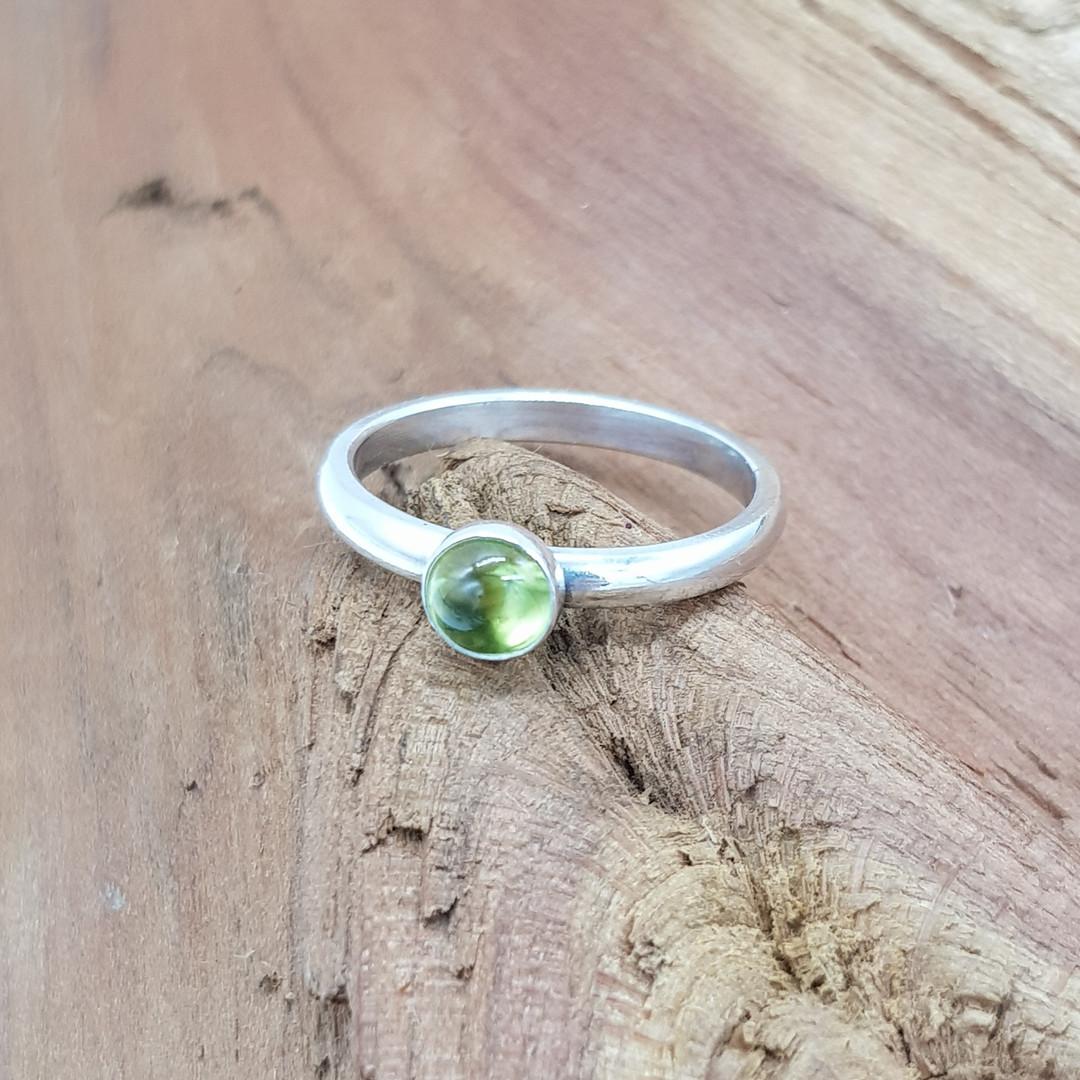 Peridot / Amethyst / Garnet / Citrine Sterling Silver Ring