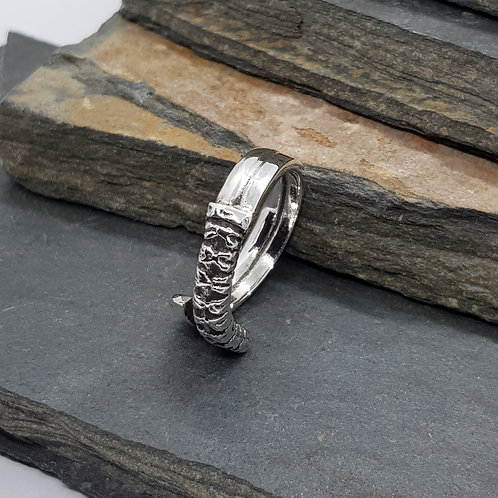 Sterling Silver Samurai Ring