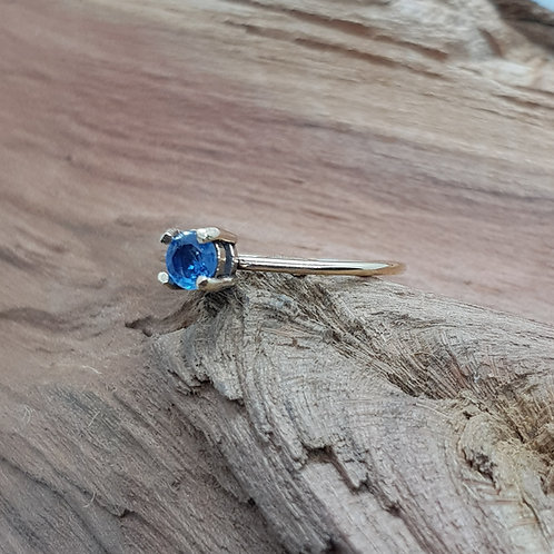 9ct Solid Gold Sapphire Ring