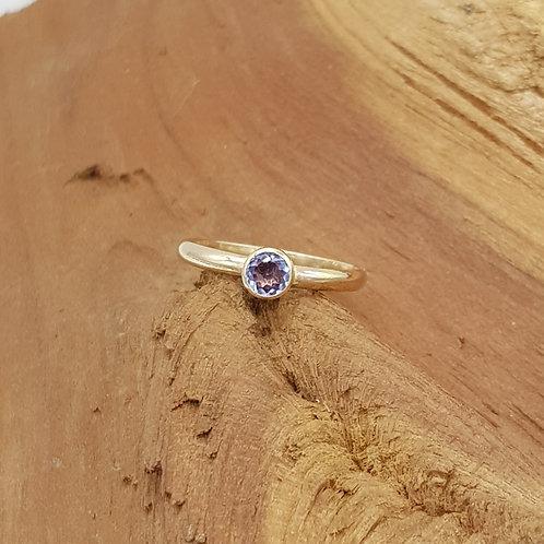 Tanzanite 14ct Gold Filled Ring