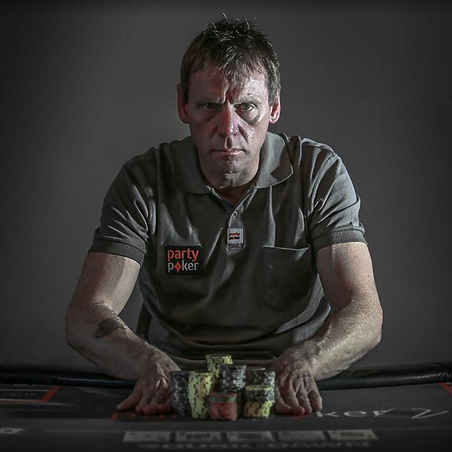 Stuart Pearce Party poker PR Image