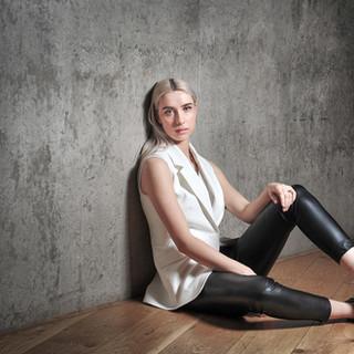Fashion shoot at Nottingham Contemporary