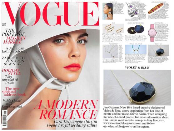 Feature in British Vogue