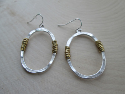Stainless Steel Wrapped Hoops