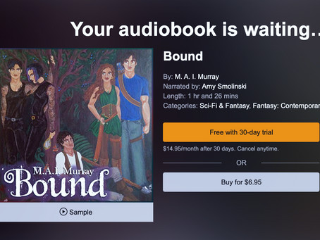 Bound Audiobook is Live!