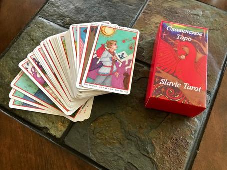 Slavic Tarot Decks are Finally Posted!