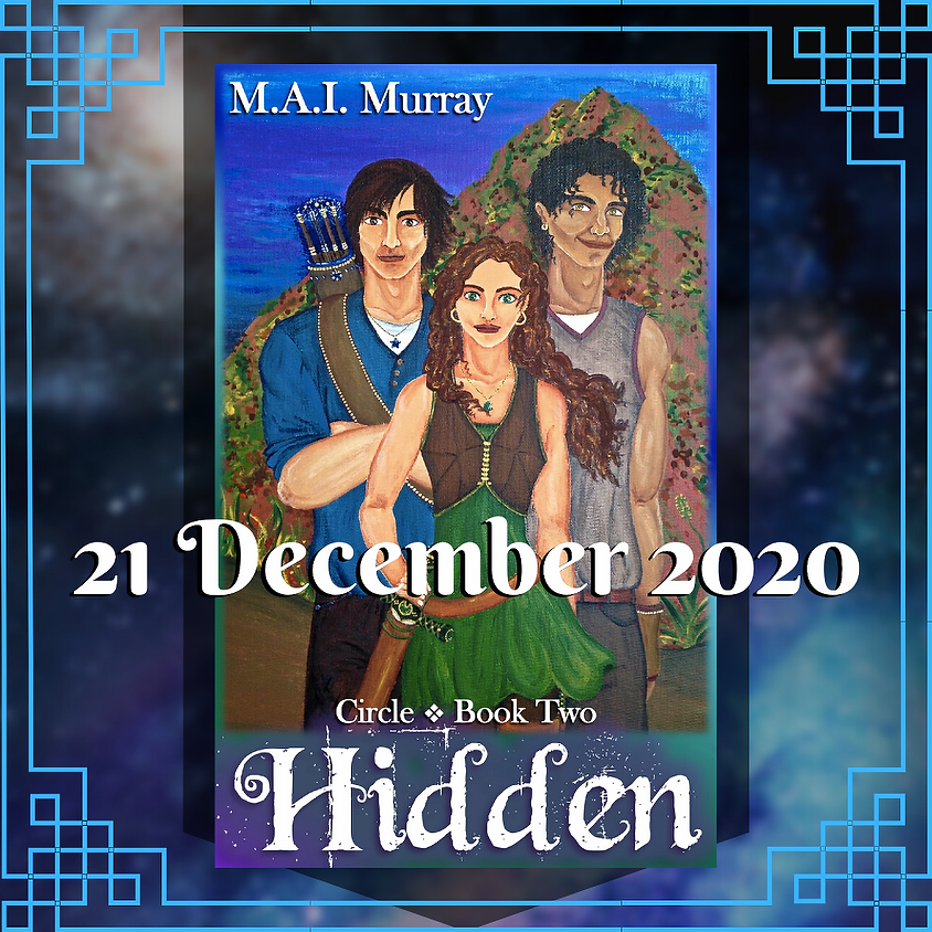 Hidden (Circle 2) Book Release!