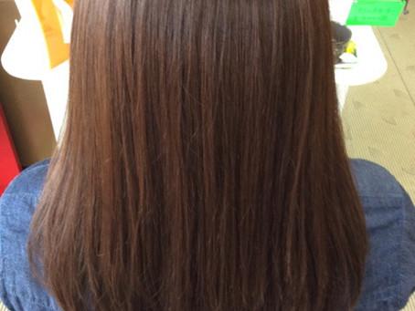 何度も何度も白髪染め縮毛矯正デジタルパーマを繰り返してます!