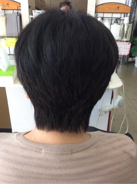 JR基山駅前美容室マイン ショートヘア アフター2