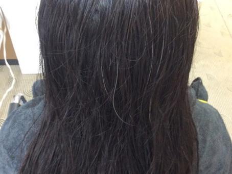 自然に伸ばします!縮毛矯正で自然な健康毛に!