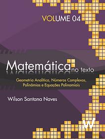 Matemática no texto Volume 4