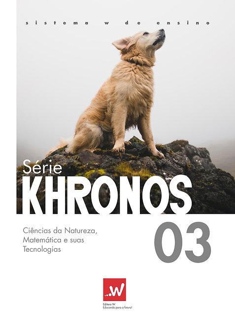 Khronos Ciências da Natureza, Matemática e suas Tecnologias 03