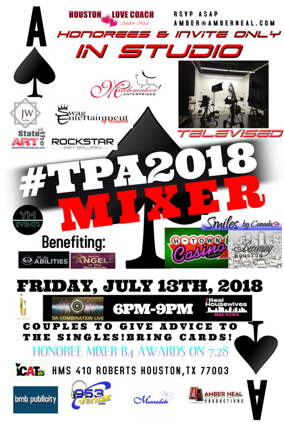 #TPA2018 Honorees and Invite only Mixer - for current and past honorees and special invited guests!
