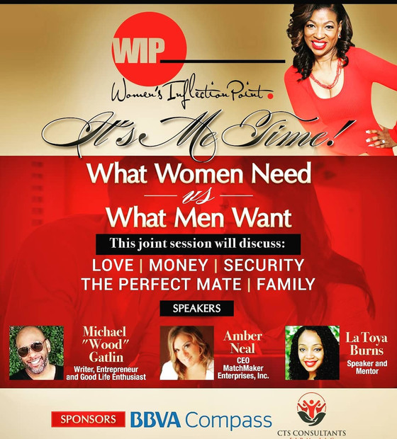 Amber Neal booked to speak at this conference Saturday! Join us~