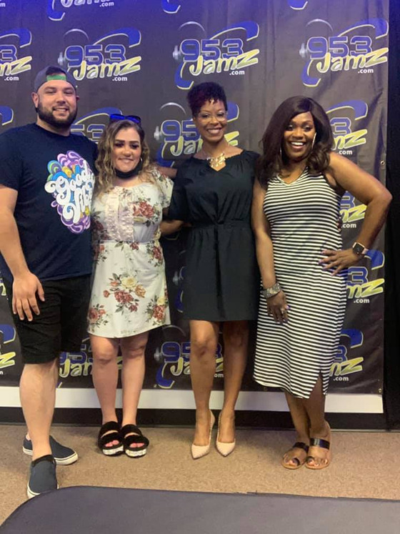 GREAT  SHOW! The Amber Neal Show with Cathy AlsoCadori DJ Houston & Jamie R. Wright