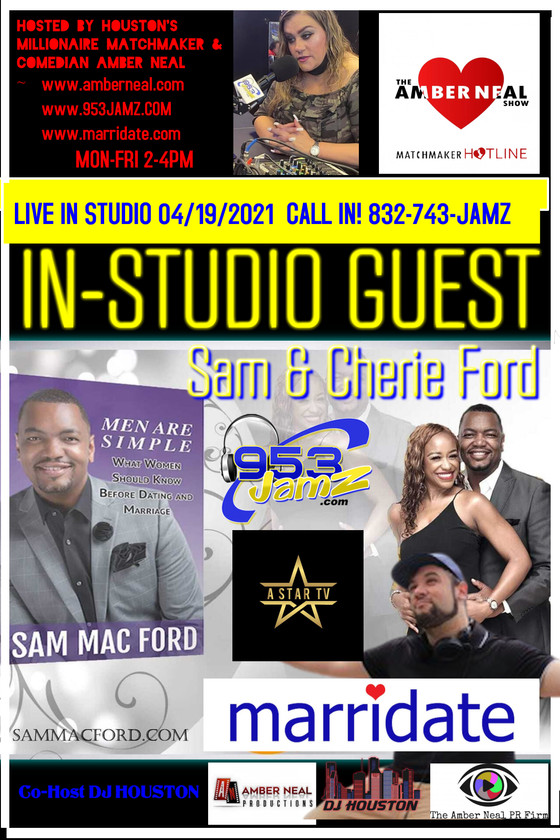 Marridate Mondays on @theambernealshow 4/19