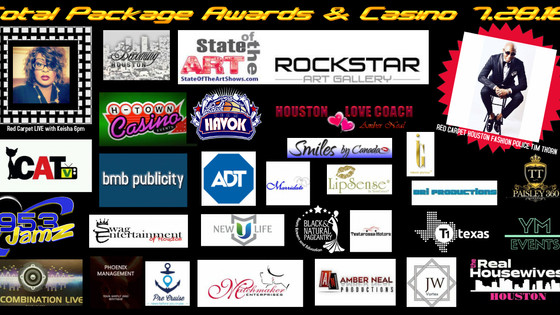 So many companies getting involved in the 4th Annual Total Package Awards & Casino Night!