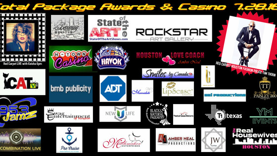 GET INVOLVED TODAY! JOIN US FOR THE 4TH ANNUAL TOTAL PACKAGE AWARDS & CASINO NIGHT !! CLICK ON H