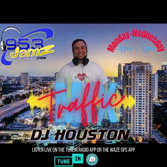 Catch DJ Houston's Traffic Mix Mon-Wed 4-5pm on @953jamz or stream www.953jamz.com