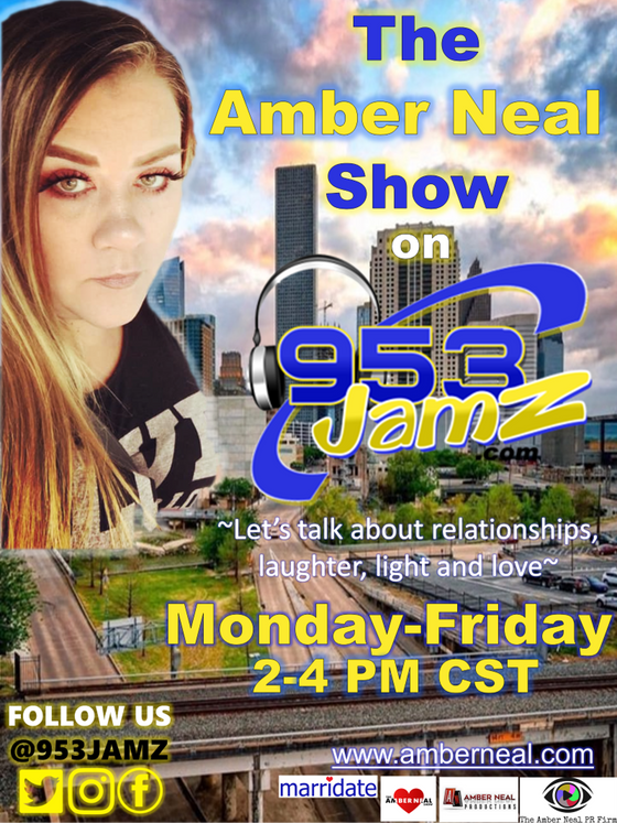amber.neal@953jamz.com 940K listeners!  $140 for a 30 minute interview on my show!