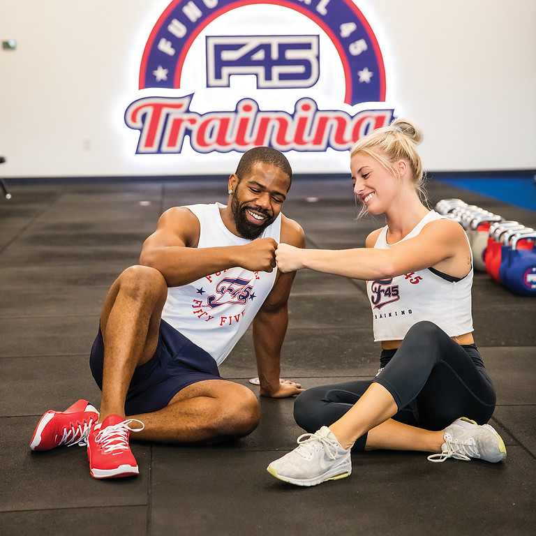 Strengthen Your Relationship with F45 GYM Couples Class