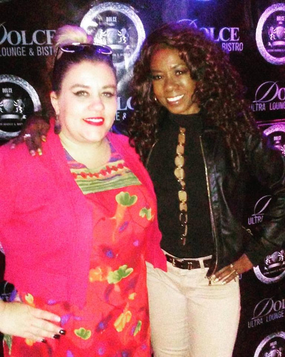 Behind scenes with Comedian Melanie Comarcho headlining at Dolce Ultra Lounge & Bistro