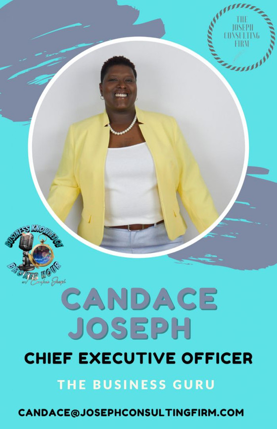 Meet Candace Joseph! Joseph Consulting Firm CEO & Strategic Partner of Amber! Read here!