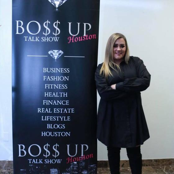 Amber Neal announced as new President of Boss Up Houston Tv Network!