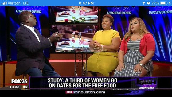 Comedian/Matchmaker Amber back on The Factor Unsensored  with Isiah Carey, my favorite Journalist! T