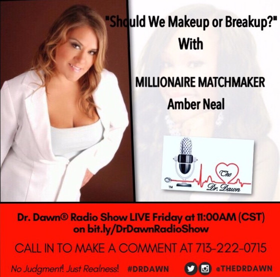 Amber Neal is special guest on The Dr. Dawn Show