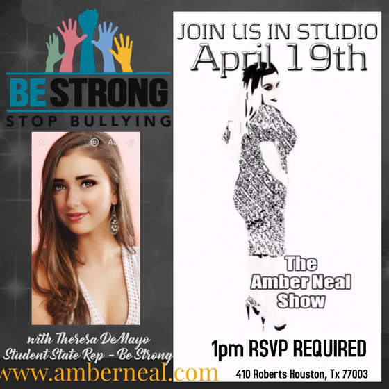 The Amber Neal Show loves to work with bright young minds that have a heart for helping others and t