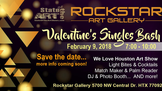 Valentine's SINGLES Bash with Matchmaker Amber Neal- Mark the DATE!! Feb 9th, 2018!