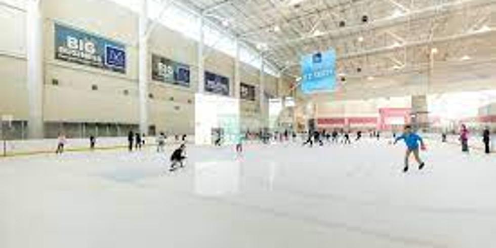 Ice Skating at Memorial City Mall