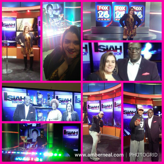 This past Friday, Amber Neal was back on Fox 26 News!!