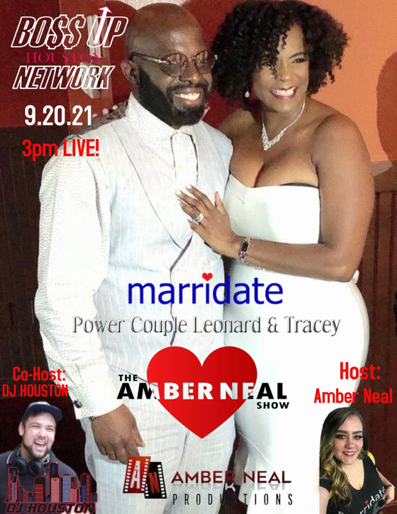 Meet Power Couple Tracey & Leonard on #Marridate Monday brought to you by www.Marridate.com❤️