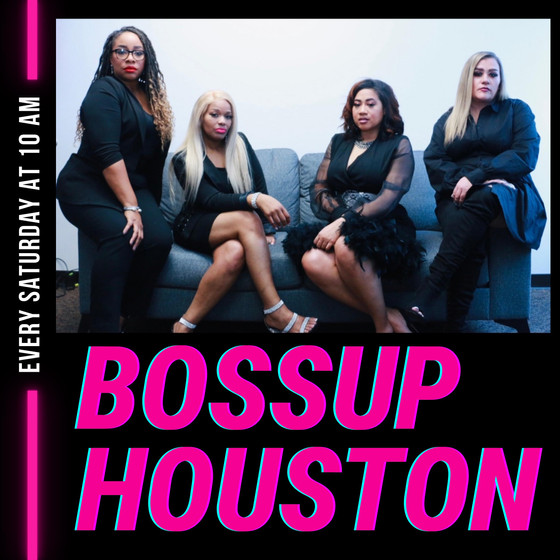 Happy to join the cast of #BossUpTalkShow on the @bossuphoustonnetwork with Host Chimere Bacon!