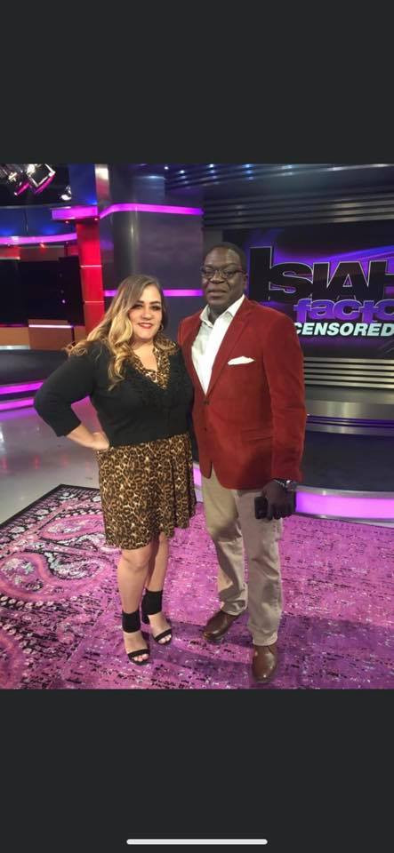 Back on #Fox26Houston with my Favorite Journalist @IsiahCareyFox26 on The Isiah Uncensored Show at 1