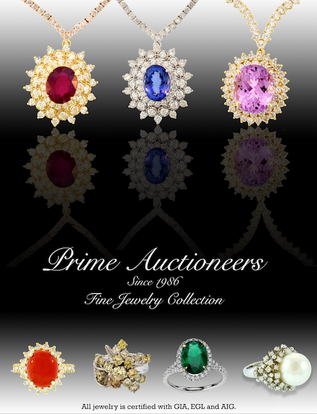 Prime Auctioneers Catalog Cover
