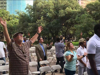 Houston City Hall Prayer