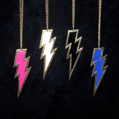 Thunderbolt Slip-on Necklace