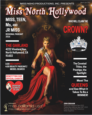 Pageant Program Cover